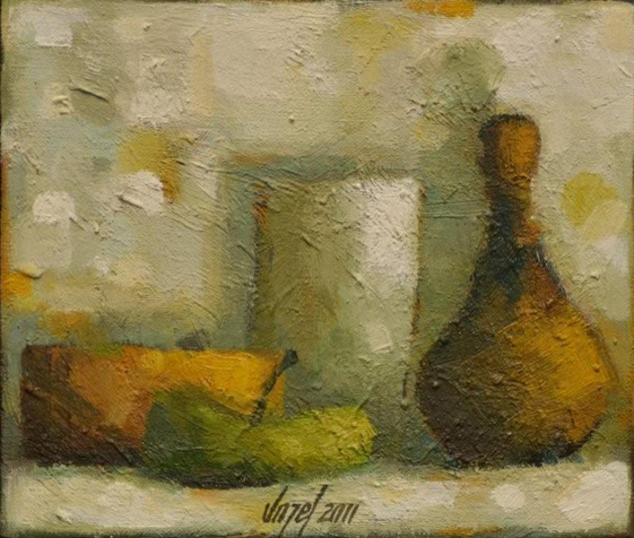 Still life oil/canvas 17 x 20 cm 2011