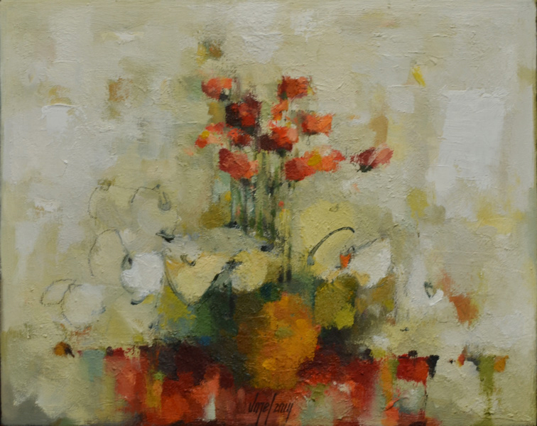Still life 1N oil/canvas 40 x 50 cm