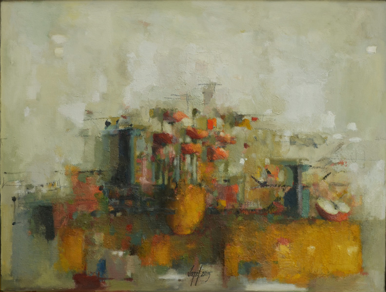 Still life 1K oil/canvas 60 x 80 cm