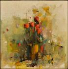 Flowers 12L oil/canvas 40 x 40 cm 2013